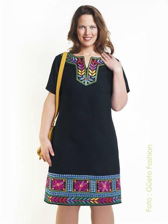 Taille-plus.com | blusa estampada de moda en tallas grandes: