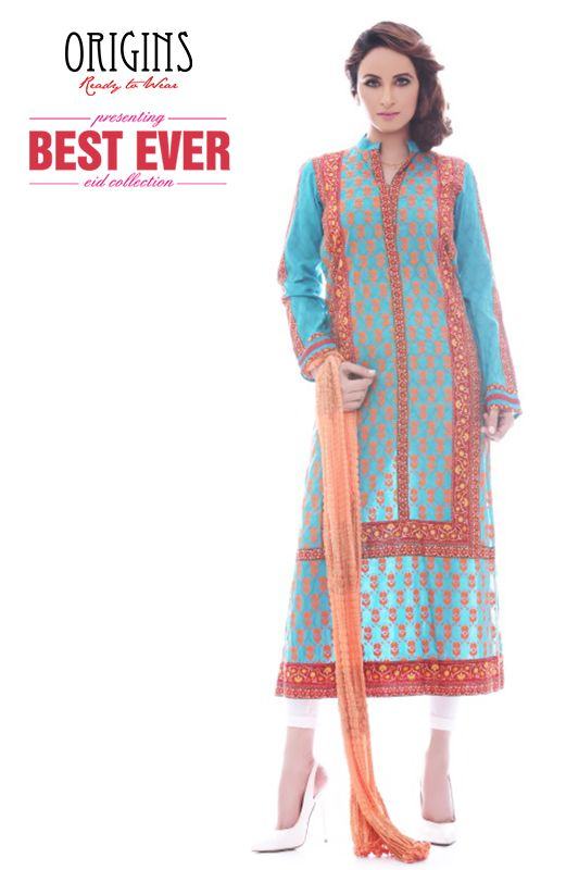 Summer Wear Long Shirts For Girls By Origins Ready To Wear From 2014