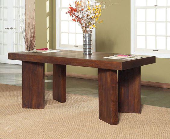 Chennai Wood Dining Room Furniture   HaikuDesigns.com
