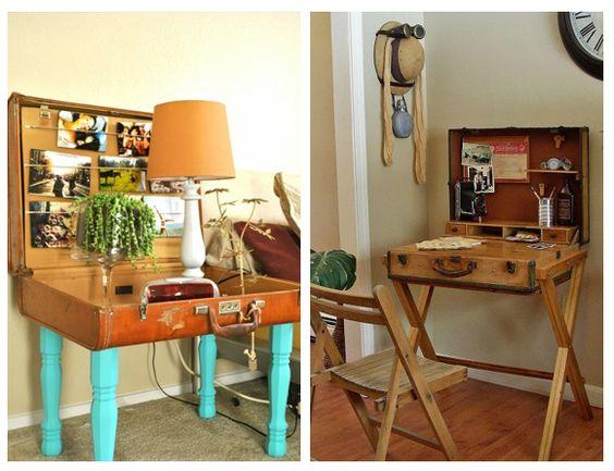 Decoración vintage: maletas antiguas - Campoloco Muebles y DecoraciónCampoloco Muebles y Decoración