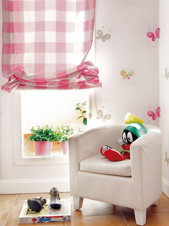 Decorando cortinas para dormitorios de ni as decoracion pinterest - Cortinas para nina ...