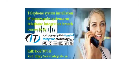 PABX Telephone Installation for office in Dubai -0556789741  We provide telephone solutions & Installation for companies