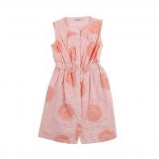 Mr Shy Print dress Powder pink