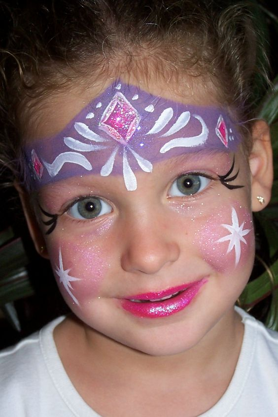 Princess Face Painting Ideas Pictures Joyful Faces