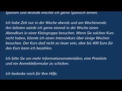 Deutsch B1 Prufung Und A2 Briefe Schreiben Teil 1 Einladungen