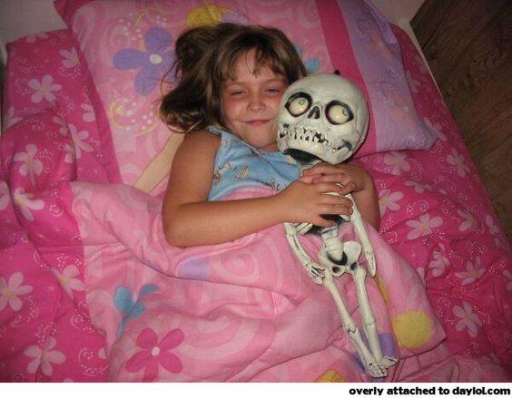 Happy skeleton is happy