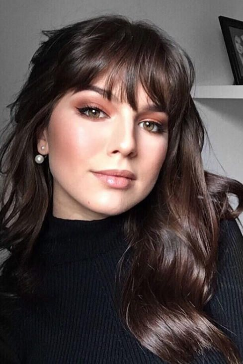 Must Try Fall Hairstyles We Re Copying From Pinterest Long Hair With Bangs Long Hair Styles Hairstyles With Bangs