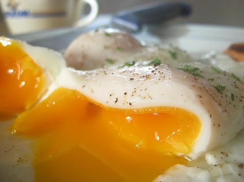 How to poached eggs.  Amazing & easy, can't wait to try!
