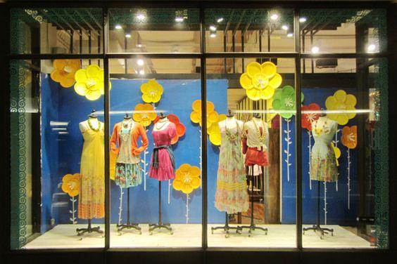 Fashion Window Displays | Just B Summer Window Display 2013 on Behance