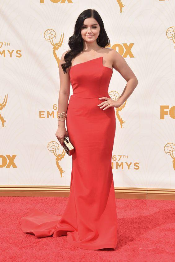 Premios Emmy 2015 . Ariel Winter por Romona Keveza.