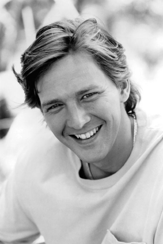 Sweet good looks, little boy charm. Andrew McCarthy:
