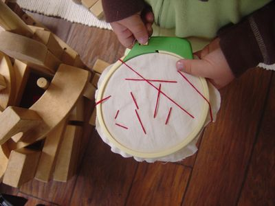 Easy Hand Sewing for Kids ~ Early Years