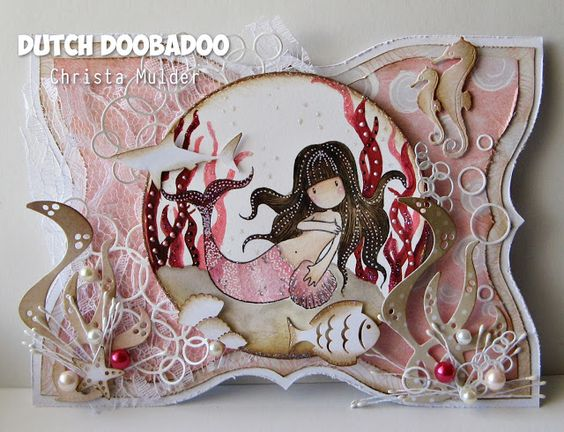 Christa's Scrappies: DT Dutch Doobadoo - Little mermaid