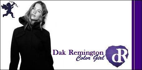 Dak Remington Color Girl