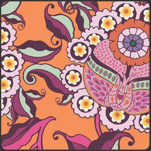 Pat Bravo - Hyperreal Garden - Flowershock in Apricot