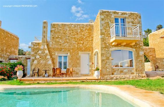 2 Bedroom Villa in Chania to rent from £421 pw. With balcony/terrace, air con, TV and DVD.