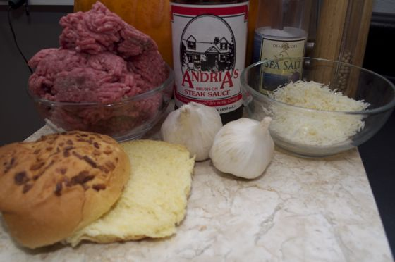 A wonderfully simple way to make boring burgers extraordinary. | Andria's Asiago Burgers | https://grillinfools.com