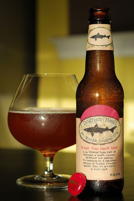 Dogfish Head 90 Minute IPA. Colour pleased me as well as the taste. This brewery stands out from all I have tasted in States. Range of beers and flavours are quite impressive.