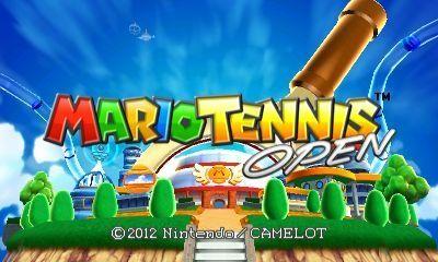 Mario 3D tennis