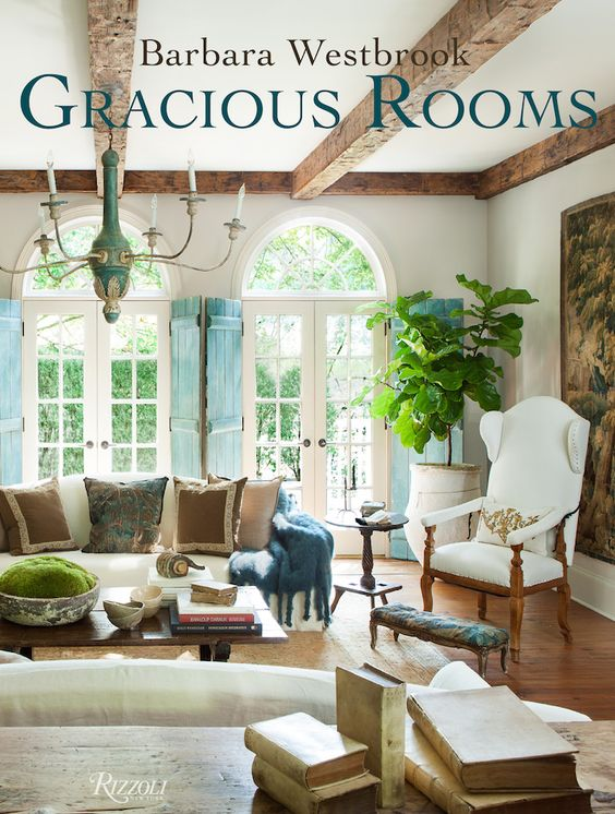Barbara Westbrook's Gracious Rooms - This book is getting rave reviews from all angles! Book signing at SummerHouse in Ridgeland, MS on September 17th! // www.alwayssummerblog.com