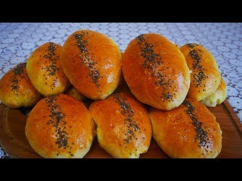 Recept Lyubimyh Pirozhkov S Kapustoj Vkusnejshee Drozhzhevoe Testo Pirozhki V Duhovke Youtube Food Hamburger Bun Bread