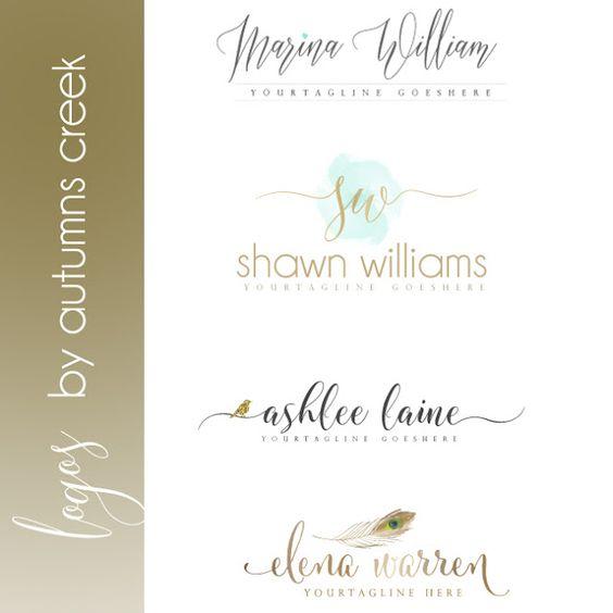 photography logos | premade logo designs