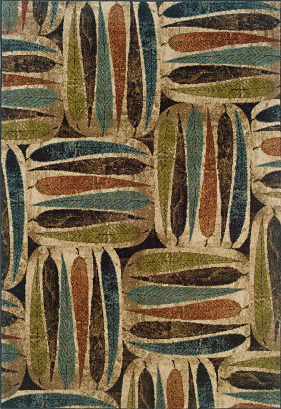 Oriental Weavers Sphinx Emerson  Ivory / Brown Area Rug