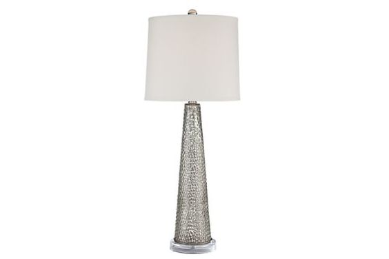 Hobbes Tapered Mercury Glass 31-Inch-H Table Lamp