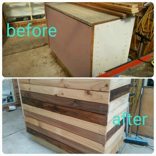 Outdoor timber cladded bar #timberupcycle #recycledtimber