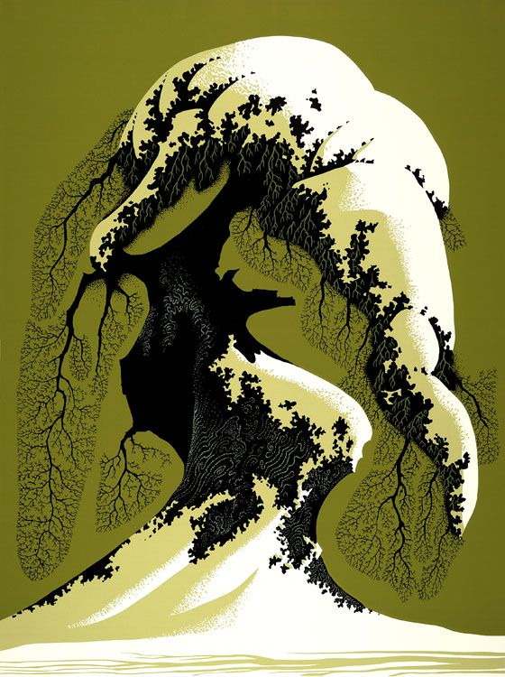 Eyvind Earle (1916-2000) American Artist and Illustartor ~ Blog of an Art Admirer: