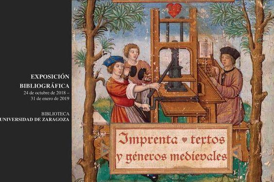 Resultado de imagen de Imprenta, textos y géneros medievales