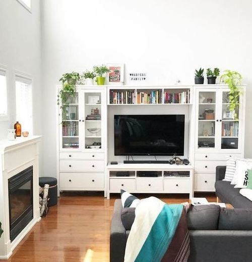 Follow This Article If You Desire Suggestions On Construct Your Own Home Entertainmen White Living Room Small Apartment Decorating Living Room Ikea Living Room