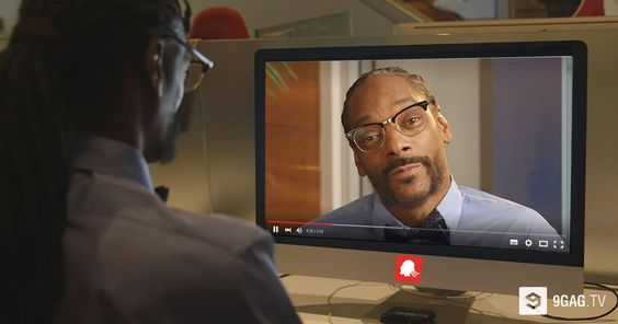 SnoopaVision Lets You Watch Every YouTube Video In 360 Degrees With Snoop Dogg - 9GAG.tv