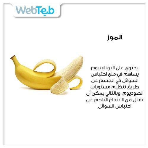 Webteb ويب طب Banana Fruit Food