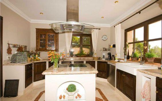 Cocina de la villa de Andratx