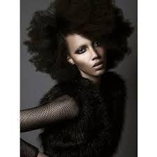 Resultado de imagem para black models with natural hair