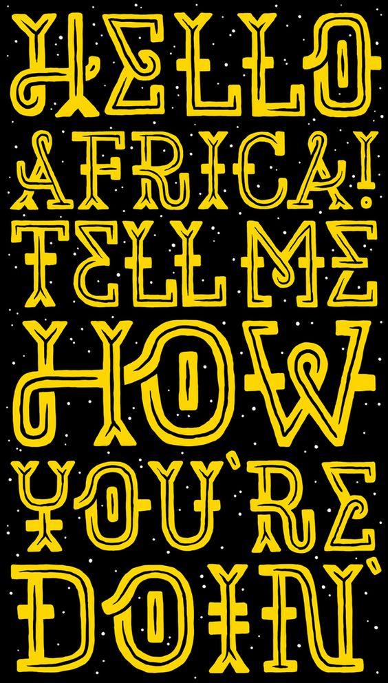 Hello Africa by Studio Muti
