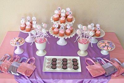 Purple and Pink Princess Tea Party