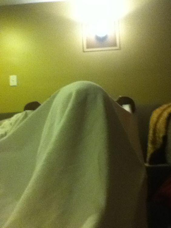 Ohhhh it's a ghost!!!ahhh