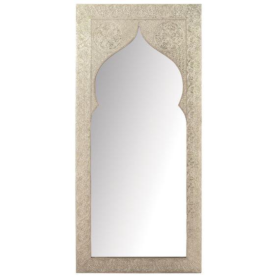 Espejo latipur con pizarra gris en vez de espejo marco for Espejo gris plata