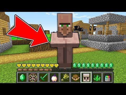 Minecraft How To Play Villager Minecraft In Minecraft Noob