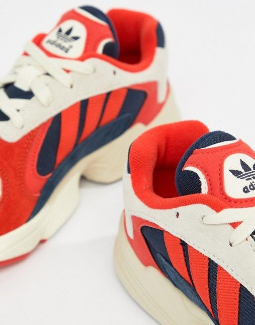 adidas Originals Yung-1 Sneakers In Red