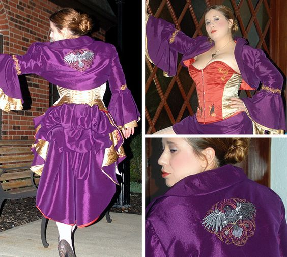Steampunk Gown