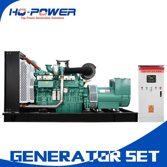 Never Used Water Cooled 350kw Three Phase Ac Synchronous Generator