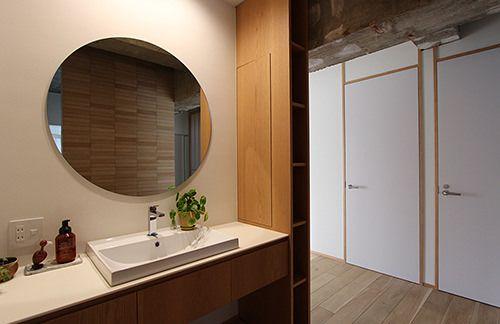 納品事例 美しいデザインの洗面台をはじめとした水まわり商品のセラ