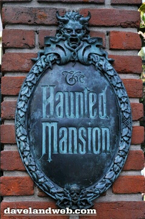 The Haunted Mansion Sign