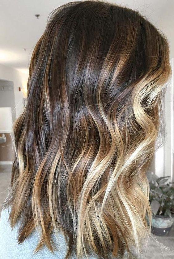 68 Unglaubliche Braunes Haar Karamell Highlights Trend