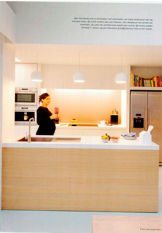 keuken lamp  Verlichting  Pinterest  Lamps