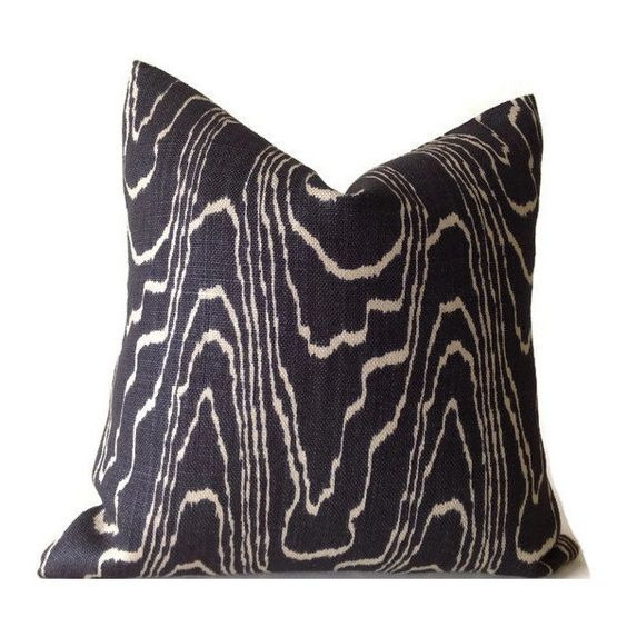 Lee Jofa Groundworks Agate Ebony Pillow Cover ($70) ❤ liked on Polyvore featuring home, home decor, throw pillows, black, decorative pillows, home & living, home décor, black throw pillows, black accent pillows and agate home decor
