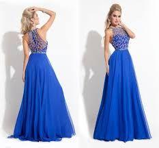 Resultado de imagen para vestidos de fiesta azul